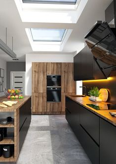Eco plus rooflights installed in kitchen area Roof Window, Healthy Living Magazine, House Stairs, Flat Roof, Contemporary Decor, Home Interior Design, Architecture Design, Kitchen Cabinets, Layout