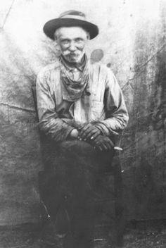 Moore (the father of Warren Moore) - Cherokee - circa 1900