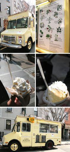 Van Leeuwen Ice Cream Truck in Brooklyn
