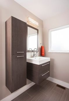 Druid Hills Mid Century Modern - modern - bathroom - atlanta - Renewal Design-Build