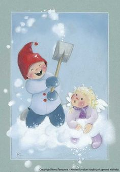 special noel - Page 3 Winter Illustration, Christmas Illustration, Illustration Art, Christmas Clipart, All Things Christmas, Kids Christmas, Christmas Journal, Creation Photo, Artists For Kids
