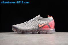 quality design d6c29 00771 Vogue New Nike Air VaporMax 2 Pink Gray Girls Shoes Online