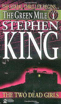 """The Green Mile"" is a 1996 serial novel written by Stephen King. It tells the story of death row supervisor Paul Edgecombe's encounter with John Coffey, an unusual inmate who displays inexplicable healing and empathetic abilities. The serial novel was originally released in six volumes before being republished as a single volume work. The book is an example of magical realism."