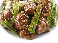 My Asian Kitchen: Spicy Sesame Chicken with Asparagus