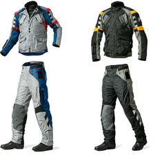 BMW Rallye 3 Jacket & Trousers, pretty!!!!! Motorcycle Riding Gear, Motorcycle Logo, Biker Gear, Motorcycle Gloves, Motorcycle Style, Motos Bmw, Bmw Motorcycles, Harley Davidson Sportster, Motorsport Clothing
