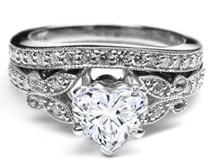 Black Diamond Ring Wedding Set 98 Luxury Heart shaped diamond ring