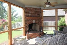 Outdoor Fireplace - like the stone wall that ties it into the deck. Description from pinterest.com. I searched for this on bing.com/images