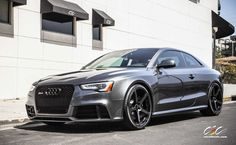 Audi RS5 with 20