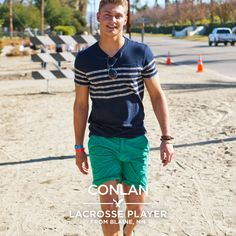 Meet Conlan, a lacrosse player from Blaine, MN.