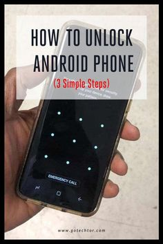 Learn how to unlock Android phone when you cannot remember the screen lock password or pattern without losing data. Life Hacks Iphone, Android Phone Hacks, Life Hacks Computer, Cell Phone Hacks, Smartphone Hacks, Computer Basics, Smartphone Holder, Android Smartphone, Hacking Books