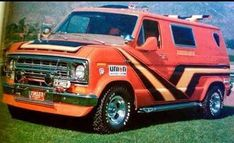 Cool Trucks, Big Trucks, Pickup Trucks, 4x4 Van, Dodge Van, Chevy Van, Customised Vans, Custom Vans, Old School Vans