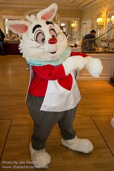 White Rabbit - Alice In Wonderland - 2014