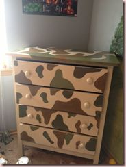 No link but the dresser looks cool. Trying to give my son some ideas for a recycled piece.