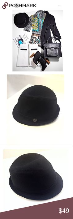 Express Black Fedora Hat  Limited Edition Unisex Host Pick  EUC Beautiful Fashion Black Fedora Hat. Express No. 1115 New York City Limited Edition 4 Stars (Truth Valor Loyalty) inside/ lining inscription), Lion Signature Logo on one side • Unisex (men / women classic fashion) • Great for Christmas Holidays & Great Gatsby Parties, wedding party, groom, groomsman, formal events, evening galas, opera, church, New Years • size L - XL, 100% cotton, used once • smoke & cat free home • God bless…
