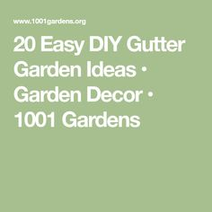Designing and growing your herb garden in a gutter garden is fun and exciting, no matter how basic your DIY ability. A great vegetal wall is easy to create! Gutter Garden, Garden Privacy, Flower Planters, Garden Planters, Pvc Gutters, Cheap Garden Fencing, Outdoor Table Settings, Herbs Indoors, Diy Hanging