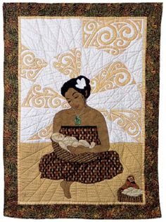 Beautiful quilt with Kiwi cultural influences