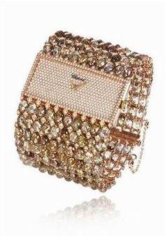 Chopard Unltimate Bright Colored Diamond Jewelry Watch