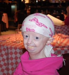 Hayley Okines - British girl with Progeria and author of Old Before My Time  She is so inspirational! I wish that I could go through life with as much love and grace as she does!