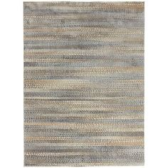 Atley knows its lines. Turkish-made, it has a luxe sheen and hazy bands that drift between navy blues, smoky grays and sandy browns. Inviting? Certainly. And worthy of the starring role beneath your coffee table, dining table or bed. Trust us, it'll set the stage beautifully.