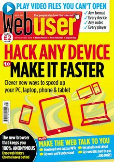 Webuser - 28 November 2013 English | 76 pages | True PDF | 21.00 Mb