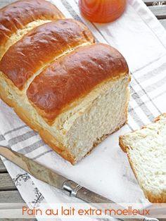 pain au lait extra moelleux, méthode asiatique (à partir d'un roux)