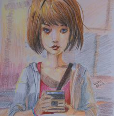 Maxine Caulfield by SnapShotDataBase.deviantart.com on @DeviantArt