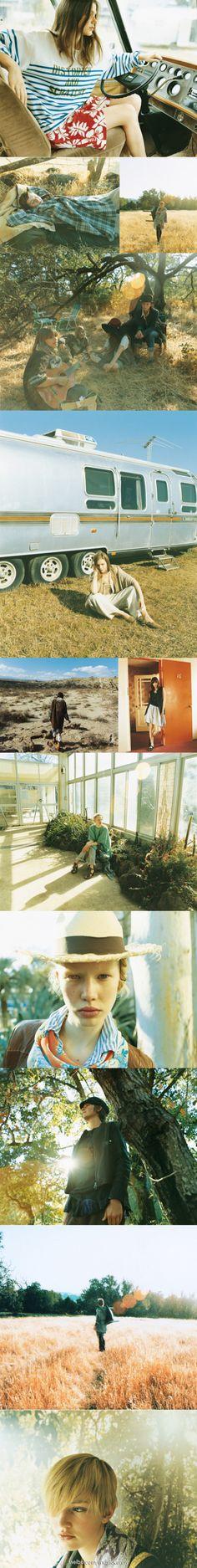 2006年 Journal Standard的画册, 暖色调, 摄影:高橋ヨーコ (Yoko Takahashi)