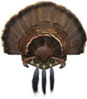 Mountain Mikes Reproductions Turkey Plaque