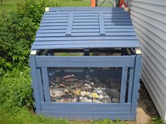 this one is nice... Homemade Compost Bin
