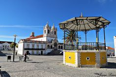 Sanctuary of Our Lady of Nazaré, Portugal:)