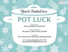 Printable Potluck Invitation 2 ex thumb
