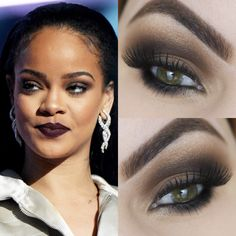 Rihanna Makeup Tutorial https://www.youtube.com/watch?v=O3CDIuJ8O6s