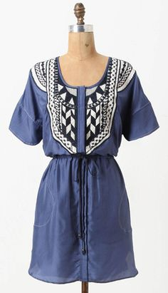 Oia embroidered silk mini dress from  Plenty by Tracy Reese