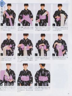 How to tie Hanhaba (?) obi into yet to be determined musubi, worn with yukata. Japanese Yukata, Japanese Costume, Japanese Outfits, Japanese Fashion, Asian Fashion, Japanese Clothing, Traditional Kimono, Traditional Fashion, Traditional Dresses