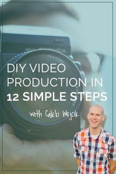 Sitting down with Caleb Wojcik of DIY Video Production, we're talking through everything you need to create videos for courses from recording to lighting, sound, editing and practice. Content Marketing, Internet Marketing, Online Marketing, Digital Marketing, Media Marketing, Diy Videos, Diy Design, Recording Studio Setup, Software