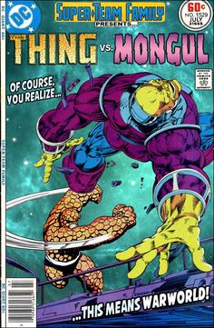 Super-Team Family: The Lost Issues!: The Thing Vs. Mongul