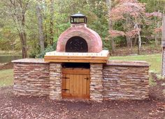 Lurz Family Wood Fired Outdoor Pizza Oven in North Carolina