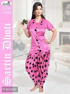 Night Wear Collections from Westofashion Satin Dresses, Long Dresses, Short Sleeve Dresses, Gowns, Night Suit, Night Gown, Girls Night Dress, Patiala, Fashion Night