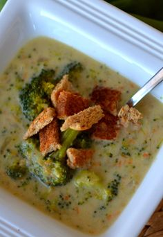 Easy BROCCOLI soup - Place of My Taste