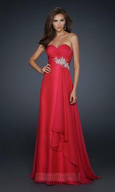 Vestidos de noche de color rojo | Rojo pasi�n