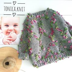 Best 11 How to make a Knitted Kimono Baby Jacket – Free knitting Pattern & tutorial – Sa… – – SkillOfKing. Knitting For Kids, Baby Knitting Patterns, Crochet For Kids, Knitting Projects, Free Knitting, Pull Crochet, Knit Crochet, Crochet Hats, Girls Sweaters