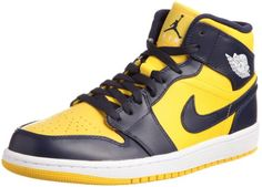 best service ad0b9 a913e BEST OFFER Nike Men s NIKE AIR JORDAN 1 MID BASKETBALL SHOES 8.5 Men US  (VARSITY