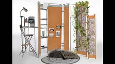 Mobiliário modular e nômade, da designer e arquiteta Natalia Géci