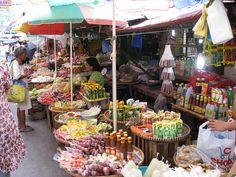 Olongapo City food market