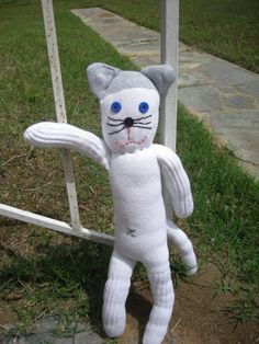 Those monkeys need someone to play with!  Sock Cat!