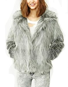 ReliBeauty Women's Faux Silver Fox Fur Twin Pockets Plush Overcoat (Large, Silver) ReliBeauty http://www.amazon.com/dp/B00NSB73R6/ref=cm_sw_r_pi_dp_jp5Aub1P7WHVR