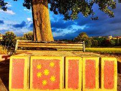 https://flic.kr/p/yABCsd | Cool art in the a park in suburban Rome! #upsticksandgo #roma #italia #inthepark #art #instaitalia #italy #michfrost #exploring #instagood #instaphoto