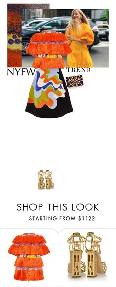 """""""Untitled #1578"""" by hil4ry ❤ liked on Polyvore featuring Stella Jean, VIVETTA, Nathalie Trad and Charlotte Olympia"""