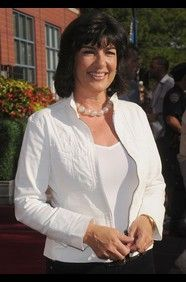 """Christiane Amanpour, host of ABC's Sunday morning political show """"This Week."""""""