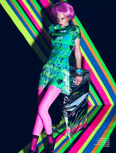 ELECTRIC Queen:    BRIGHT + BEYOND - 2    Relapse Magazine - May/June 2012  Ph: Whalen Bryce